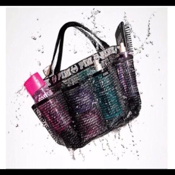 Pink Logo Cute Shower Caddy | Poshmark